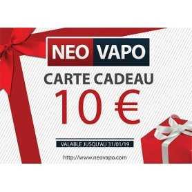 Carte cadeau 10 EUR