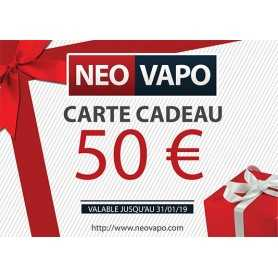 Carte cadeau 50 EUR