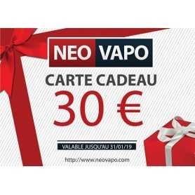 Carte cadeau 30 EUR