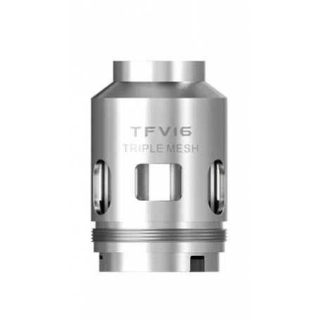 Atomiseur TFV16 Triple Mesh 0.15 ohm - Smok