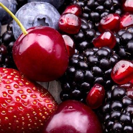 E-liquide Saveur fruits rouges reverse