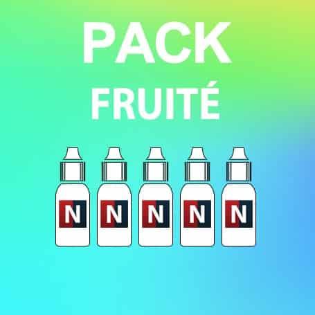 Pack découverte fruité, E-liquide Français, Neovapo