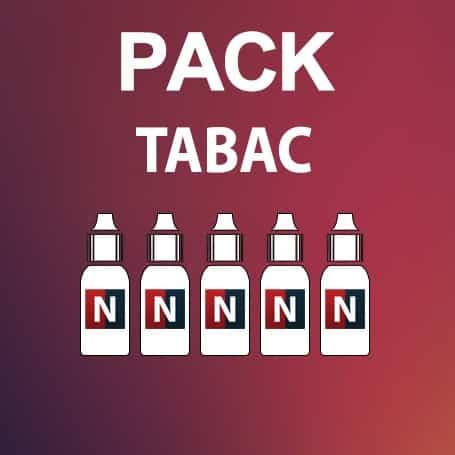 Pack découverte tabac, E-liquide Français, Neovapo